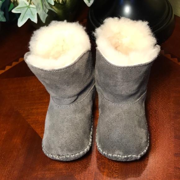 543ff23f001 UGG Gray I Caden Infant Boots